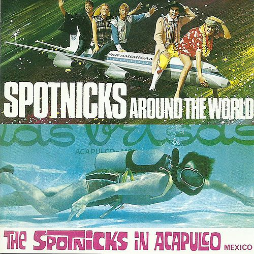 Play & Download Around the world/In Acapulco by The Spotnicks | Napster