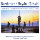 Beethoven · Haydn · Rossini: Symphony No. 4 · Symphony No. 49 · Overture