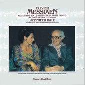 Olivier Messiaen: Meditations Sur Le Mystere de La Sainte Trinite, L'Ascension Messe de La Pentecote by Jennifer Bate