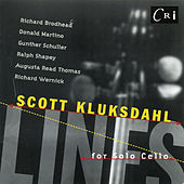 Play & Download Lines for Solo Cello by Scott Kluksdahl | Napster