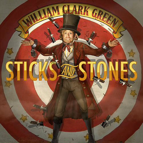 Play & Download Sticks and Stones by William Clark Green | Napster