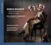 Play & Download Milhaud & Ysaÿe & Hindemith: Viola Concerto No. 1 / Quatre Visages / Viola Solo Sonatas by Schönberg Ensemble | Napster