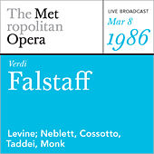 Play & Download Verdi: Falstaff (March 8, 1986) by Metropolitan Opera | Napster