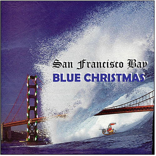 San Francisco Bay Blue Christmas by Time Pools