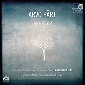 Play & Download Pärt: Da pacem by Arvo Pärt | Napster
