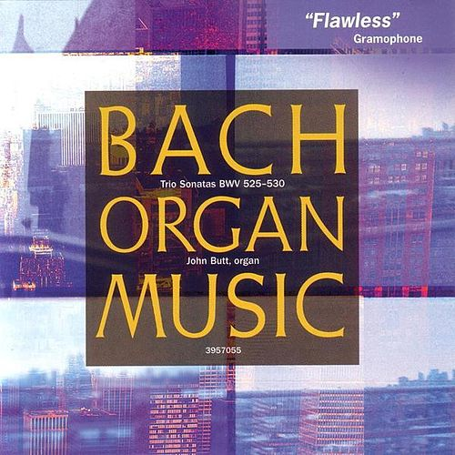 Bach: Trio Sonatas for Organ by Johann Sebastian Bach