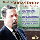 The Art Of Alfred Deller: The Counter-Tenor Legacy von Alfred Deller