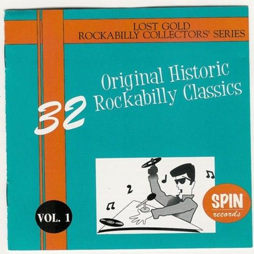 32 Original Historic Rockabilly Classics Vol. 1 by Various Artists