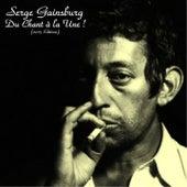 Play & Download Du chant à la une ! by Serge Gainsbourg | Napster