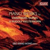 Nunes: Litanies Du Feu Et De La Mer & Kelterborn: Piano Pieces 1-13 by See Siang Wong