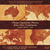Play & Download Piano Character Pieces from Four Continents by Richard Zimdars | Napster