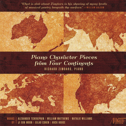 Piano Character Pieces from Four Continents by Richard Zimdars