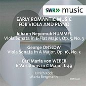 Play & Download Early Romantic Music for Viola & Piano by Ulrich Koch | Napster