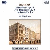 Piano Pieces Opp.76, 79, and 116 by Johannes Brahms