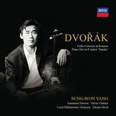 Dvorák: Cello Concerto In B Minor, Piano Trio In E Minor 'Dumky' by Sung-Won Yang