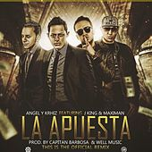 Play & Download La Apuesta (Remix) [feat. Maximan & JKing] by Angel y Khriz | Napster
