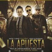 La Apuesta (Remix) [feat. Maximan & JKing] by Angel y Khriz