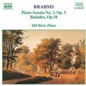 Piano Sonata No.3 / Ballades Op. 10 by Johannes Brahms