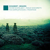 Play & Download F. Schubert, J. Brahms: The Complete Duos - Phantasie by Paolo Giacometti | Napster