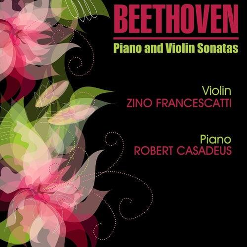 Beethoven: Sonates pour piano et violon by Robert Casadesus