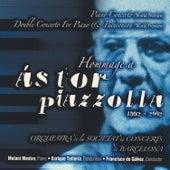 Hommage À Ástor Piazzolla by Enrique Tellería, Francisco De Gálvez, Melani Mestre