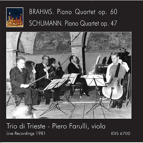 Play & Download Brahms & Schumann: Piano Quartets (Live) by Trio Di Trieste | Napster