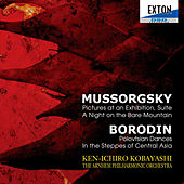 Play & Download Mussorgsky: Pictures at an Exhibition, Suite, A Night on the Bare Mountain, Borodin: Polovtsian Dances, In the Steppes of Central Asia by Arnhem Philharmonic Orchestra | Napster