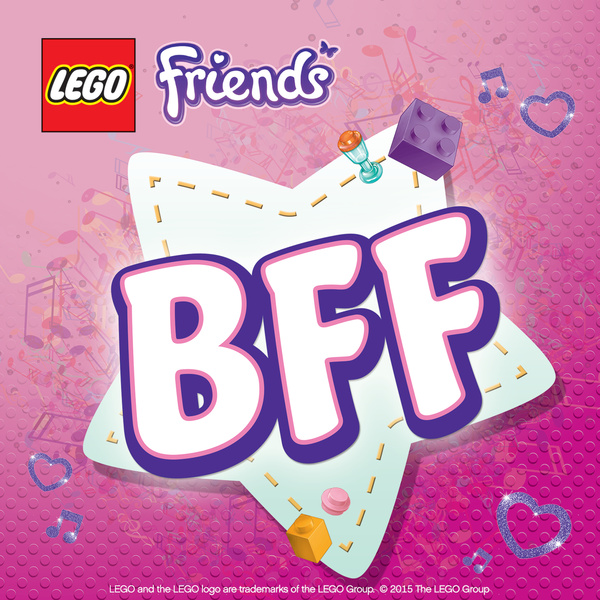 the bff song best friends forever single by lego friends