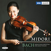 Bach Partitas & Sonatas for Solo Violin by Midori