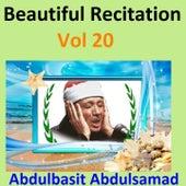 Play & Download Beautiful Recitation, Vol. 20 (Quran - Coran - Islam) by Abdul Basit Abdul Samad | Napster