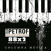 Play & Download 88x2 Music for Two Pianos by Duo Petrof | Napster