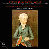 Play & Download Mozart: Flute Concerto No. 1 in G Major, K. 313 - Flute Concerto No. 2 in D Major, K. 314 - Andante in C Major, K. 315 by Alexandre Magnin | Napster