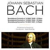 Play & Download Bach:  Brandeburg Concerto Nos. 4 - 6 by Philharmonia Slavonica | Napster