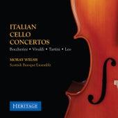 Italian Cello Concertos by Moray Welsh
