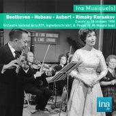 Play & Download Beethoven - Hubeau - Aubert - Rimski Korsakov, Orchestre National de la RTF by Various Artists | Napster