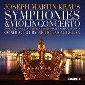 Kraus: Szimfóniák és hegedűverseny (Symphonies and Violin Concerto) by Various Artists