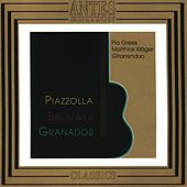 Play & Download Piazzolla, Brouwer, Granados by Gitarrenduo Pia Grees | Napster