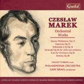 Marek: Suite for Orchestra Op. 25, Quatre Méditations Op. 14, Sérénade Op. 24, Sinfonietta in D Op. 16 by Various Artists