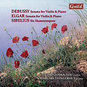 Debussy: Sonata in G Minor, L. 140 - Elgar: Sonata E Minor, Op. 82 - Sibelius: Six Humoresques, Op. 87 & 89 by Margaret Fingerhut