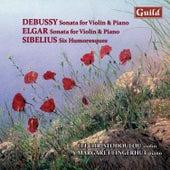 Play & Download Debussy: Sonata in G Minor, L. 140 - Elgar: Sonata E Minor, Op. 82 - Sibelius: Six Humoresques, Op. 87 & 89 by Margaret Fingerhut | Napster