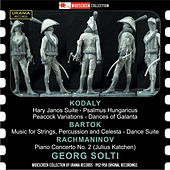 Kodály, Bartók, Rachmaninoff & Solti: Orchestral Works by Various Artists