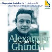 Scriabin: 24 Preludes, Piano Sonatas No. 1 & No. 10 by Alexander Ghindin