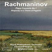Rachmaninoff: Piano Concerto No. 1 in F-Sharp Minor, Op. 1 & Rhapsody on a Theme of Paganini, Op. 43 by Sequeira Costa