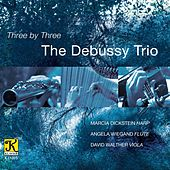 Play & Download Three by Three by The Debussy Trio | Napster
