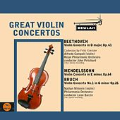 Play & Download Great Violin Concertos by Various Artists | Napster
