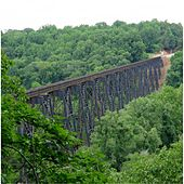Play & Download The James River Trestle by Mel Parker | Napster