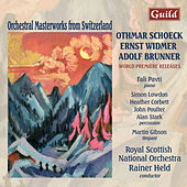 Schoeck: Festlicher Hymnus Op. 64, Overture to William Ratcliff - Widmer: Concerto for piano, percussion and orchestra - Brunner: Partita for piano and orchestra by Various Artists