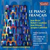 Play & Download Rivier: Concerto Brève - Casadesus: Capriccio, Op. 49 - Wiener: Concerto No. 1 'Franco Americain' - Castérède: Concerto for piano and string orchestra by Timon Altwegg | Napster
