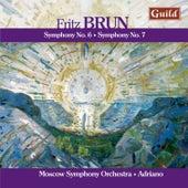 Brun: Symphony No. 6 & 7 by Moscow Symphony Orchestra