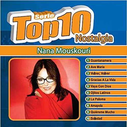 Serie Top Ten by Nana Mouskouri